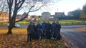 Community litter pick collected over 10 bags of rubbish
