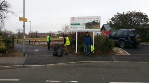 A second community litter pick to take place on 7th of Decmber due to bad weather in October