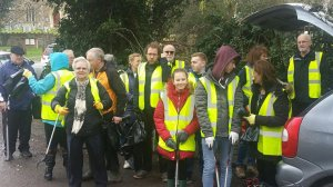 Community Litter Pick.  Meet opposite the Church Saturday 26th October 10am