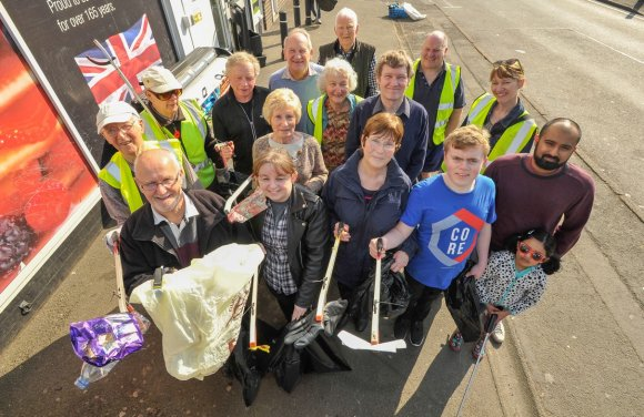 Litter Pick April 2017